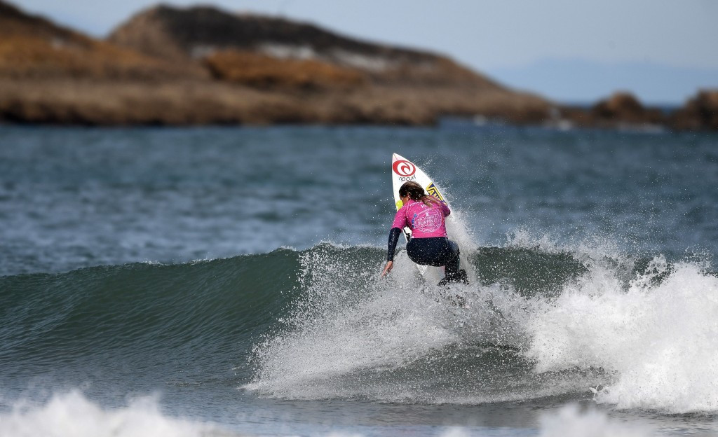 France's Ado makes semi-finals of World Surfing Games in Biarritz