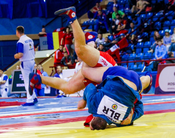 Home favourite Rybak dents Russian supremacy on final day of 2017 European Sambo Championships