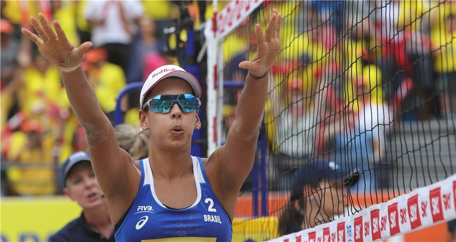 Brazilian pairs claim home titles at FIVB Beach World Tour event in Rio