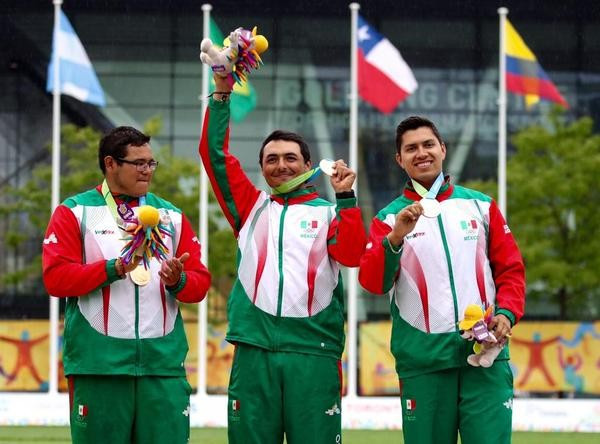 Mexico ended a US stranglehold on the men's team archery title which had stretched back five decades ©Mexican Olympic Committee