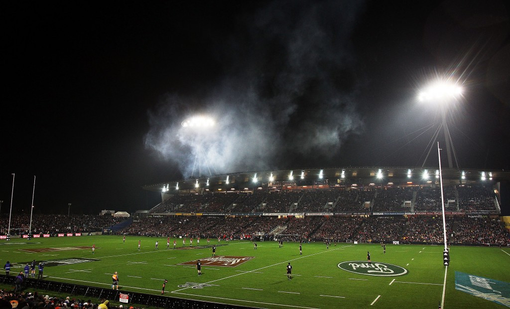The Waikato Stadium has replaced Wellington's Westpac Stadium as the venue for the New Zealand leg of the World Rugby Sevens Series ©Getty Images
