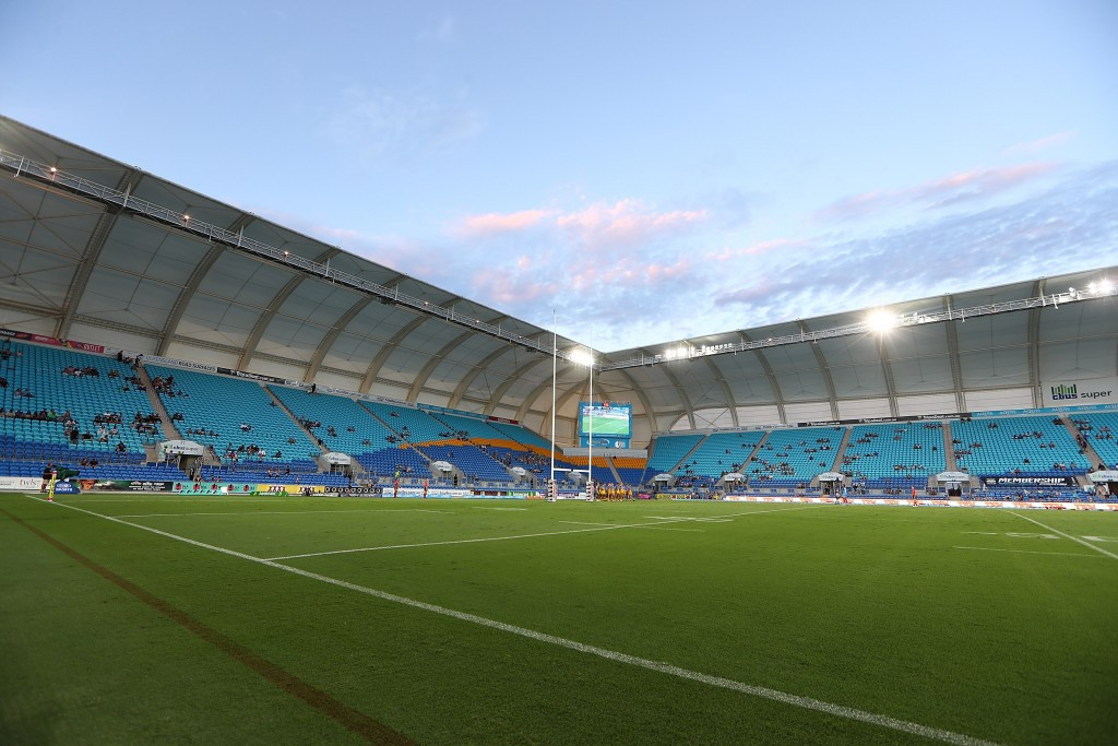 The series will pause for the Gold Coast 2018 Commonwealth Games where rugby sevens action will take place at Robina Stadium ©Getty Images
