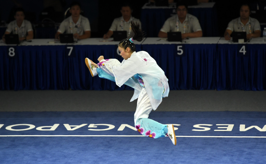 Indonesian delegation discuss Asian Games with International Wushu Federation