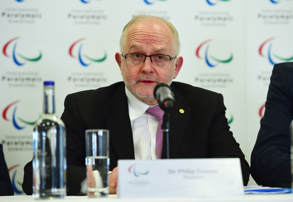 "Sir Philip Craven warned it would be ""very unlikely"" for Russia to compete at Pyeongchang 2018 should the criteria not be met by September ©Getty Images"