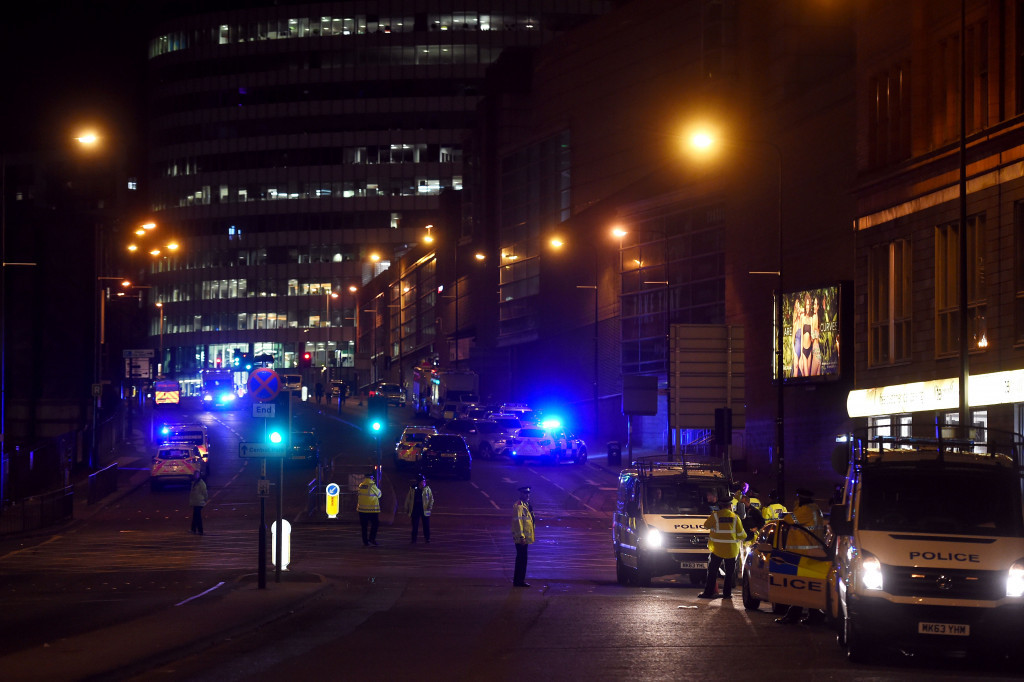 A terrorist attack hit the Manchester Arena last night ©Getty Images