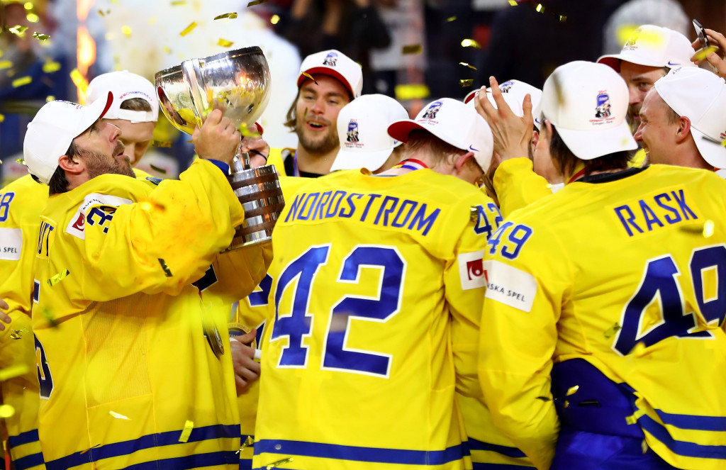 Recently crowned champions Sweden will play in group A ©Getty Images
