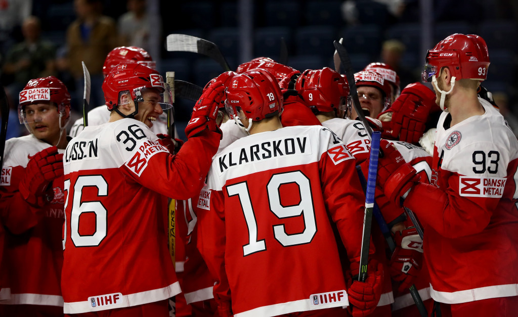 Host Denmark will take to the ice in Herning in group B ©Getty Images
