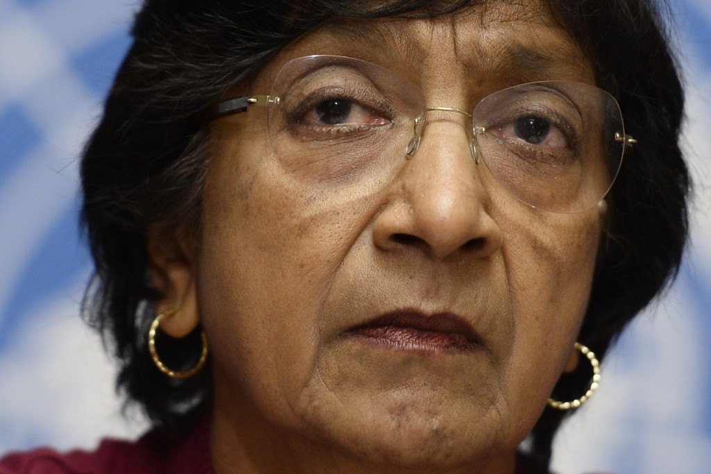 Human rights expert Navi Pillay has reported resigned from FIFA's Governance Committee ©Getty Images