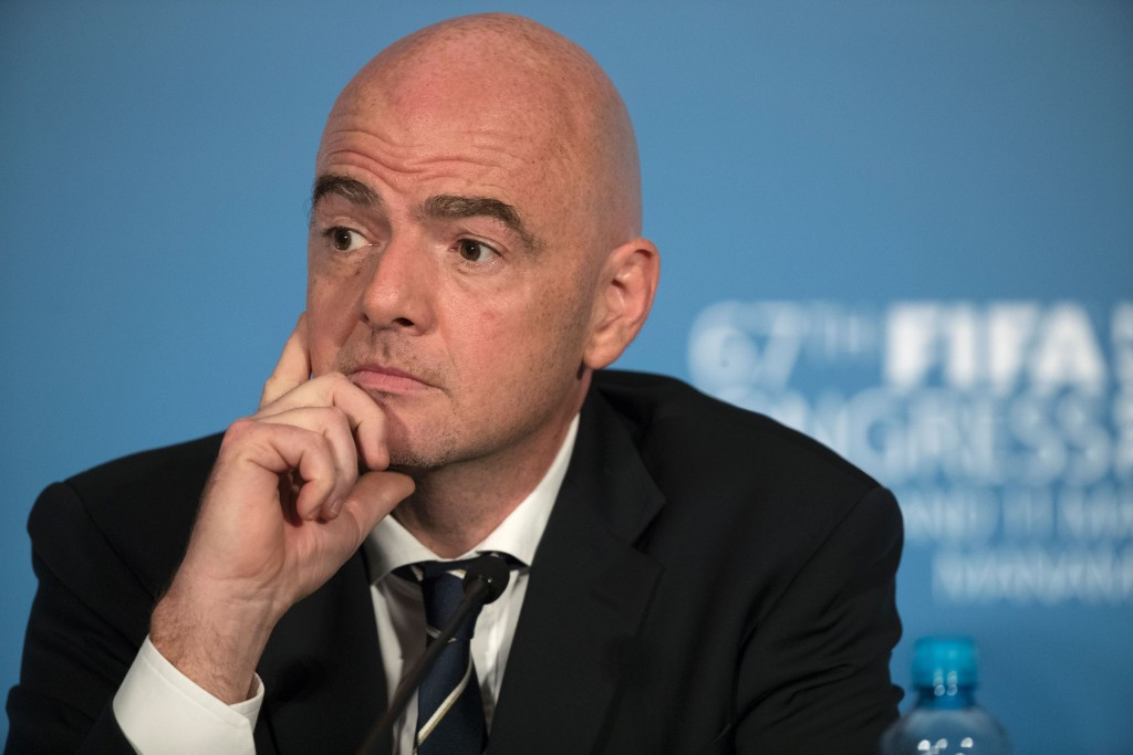 FIFA President Gianni Infantino has faced criticism over appointments to committees ©Getty Images