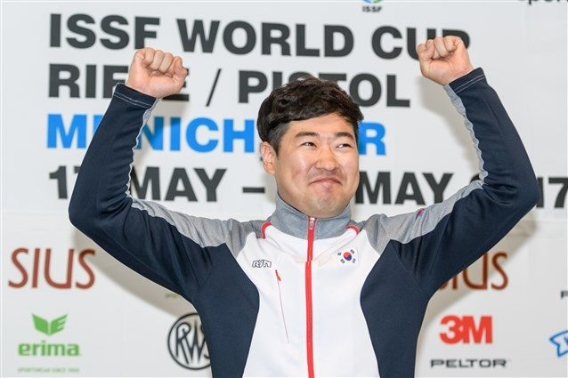 South Korea finished at the top of the medals table ©ISSF