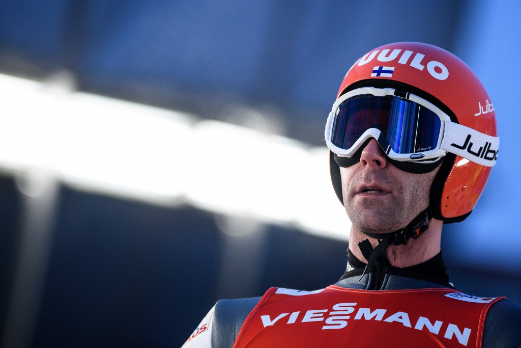 Veteran Ahonen among Finnish ski jumping squad