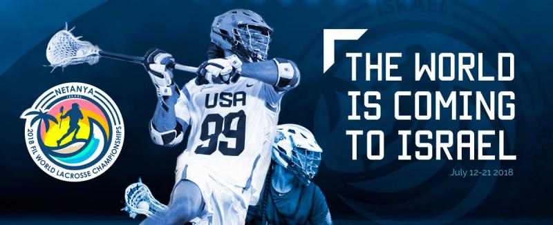 Israel awarded 2018 Men's World Lacrosse Championship