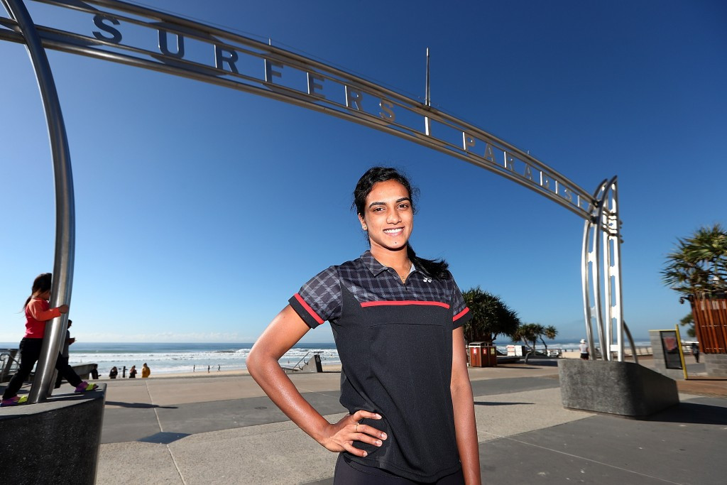 PV Sindhu was elected to the BWF Athletes' Commission in Gold Coast ©Getty Images