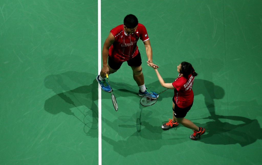 Debby Susanto and Praveen Jordan gave Indonesia a perfect start, but they still suffered defeat ©Getty Images