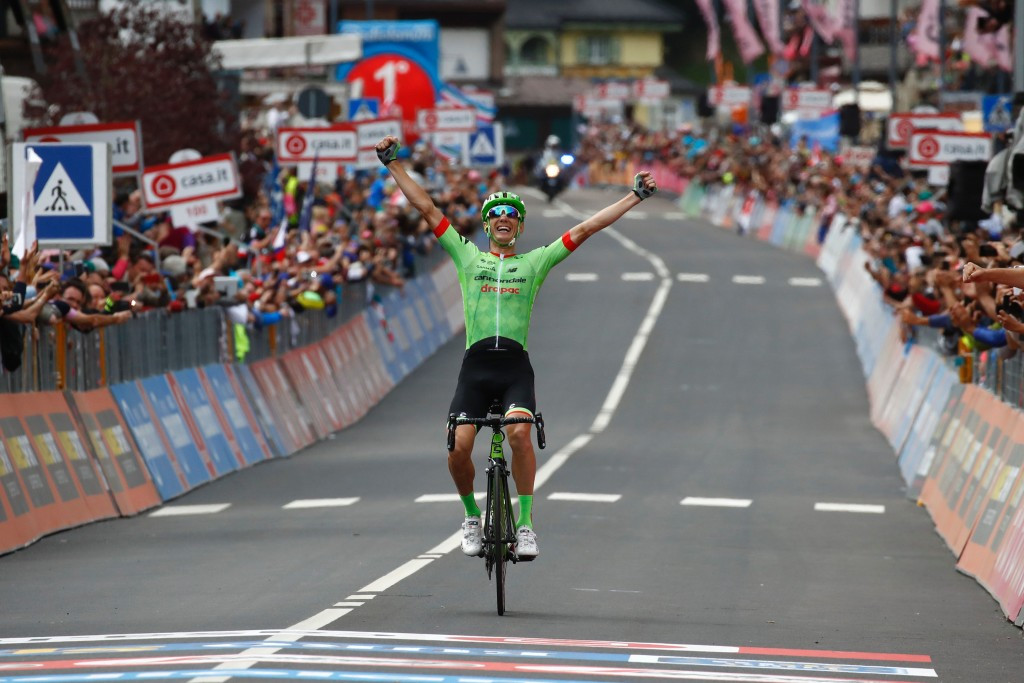 Rolland earns breakaway stage 17 victory at Giro d'Italia