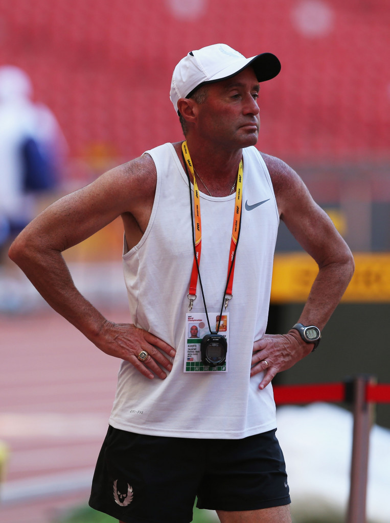Alberto Salazar, head coach at Nike Oregon Project, is implied to have transgressed doping rules in a leaked USADA report ©Getty Images