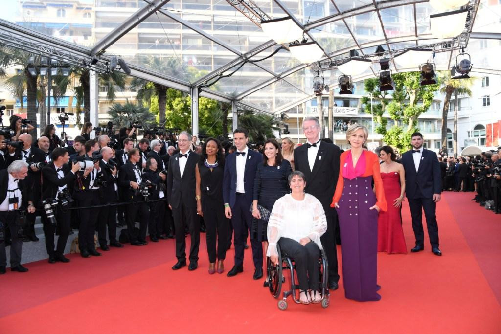 Paris 2024 bid leaders and athletes attend Cannes Film Festival