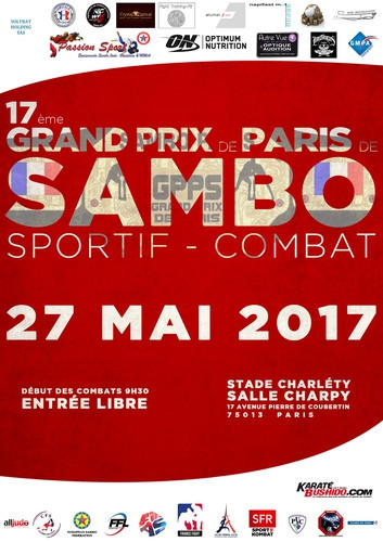 Sambo Grand Prix set to take place in Paris