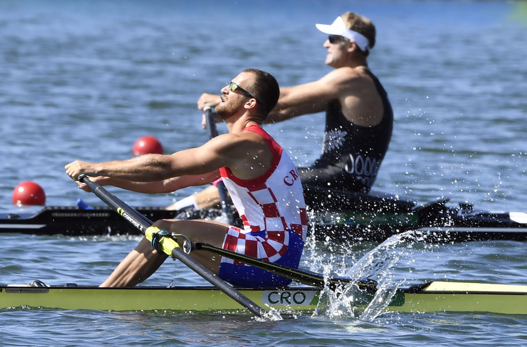 Croatia's Damir Martin will be looking to retain his men's single sculls European crown ©Getty Images