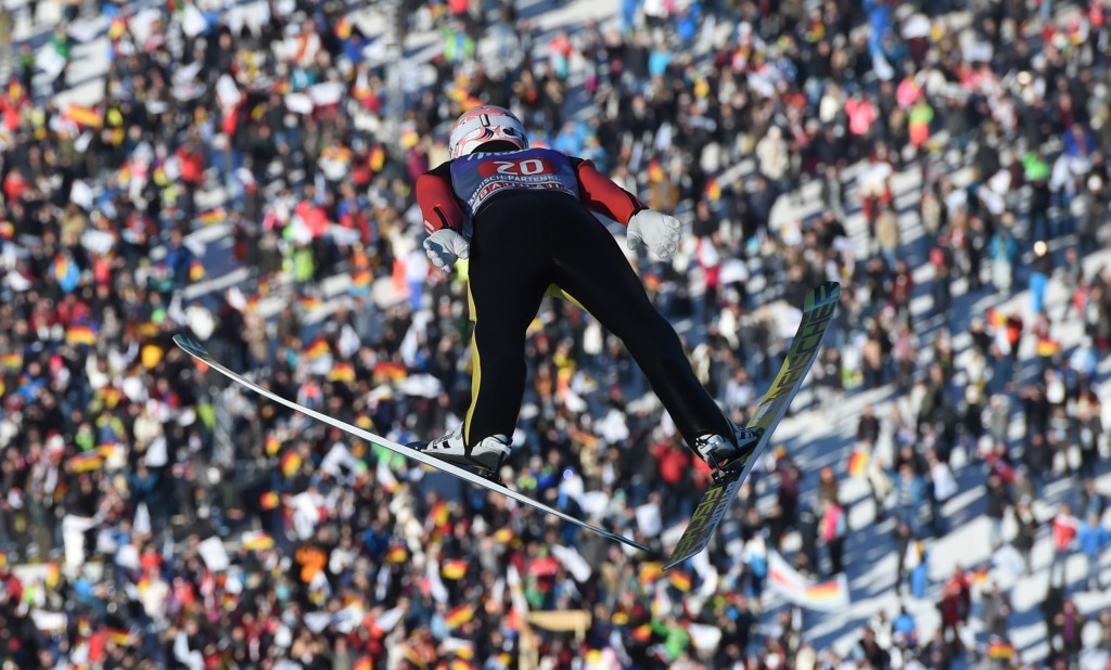 Severin Freund won team ski jumping gold at the Sochi 2014 Winter Olympics ©Getty Images