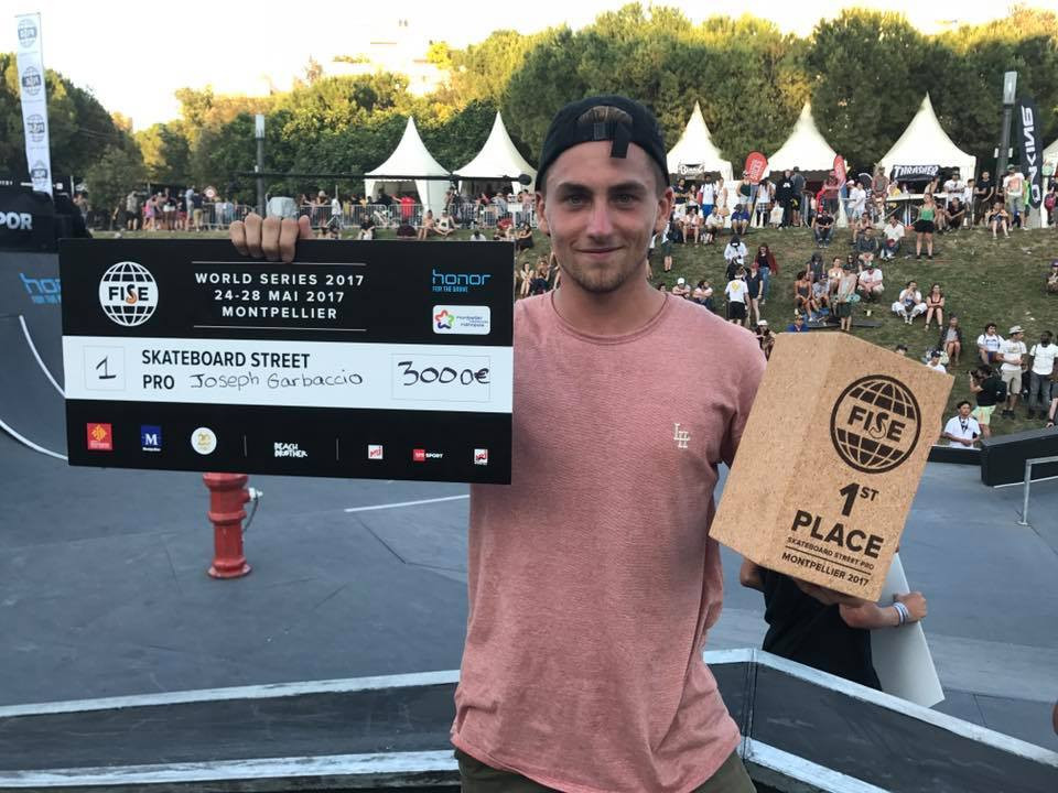 Skateboard street success for hosts France at FISE series in Montpellier