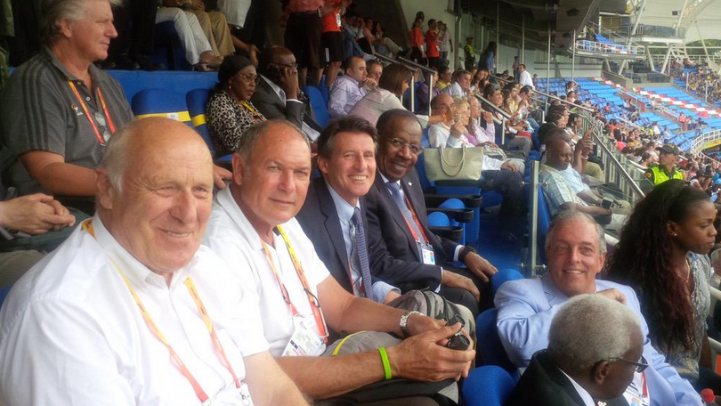 Sebastian Coe is currently attending the IAAF World Youth Championships in Cali