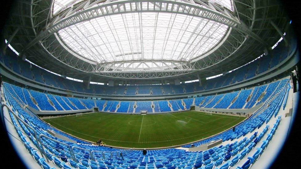 FIFA have claimed North Korean citizens are no longer working at the construction site for the Saint Petersburg Stadium ©FIFA
