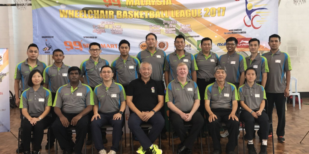 Wheelchair basketball clinic held in Malaysia as preparations continue for 2017 ASEAN Para Games