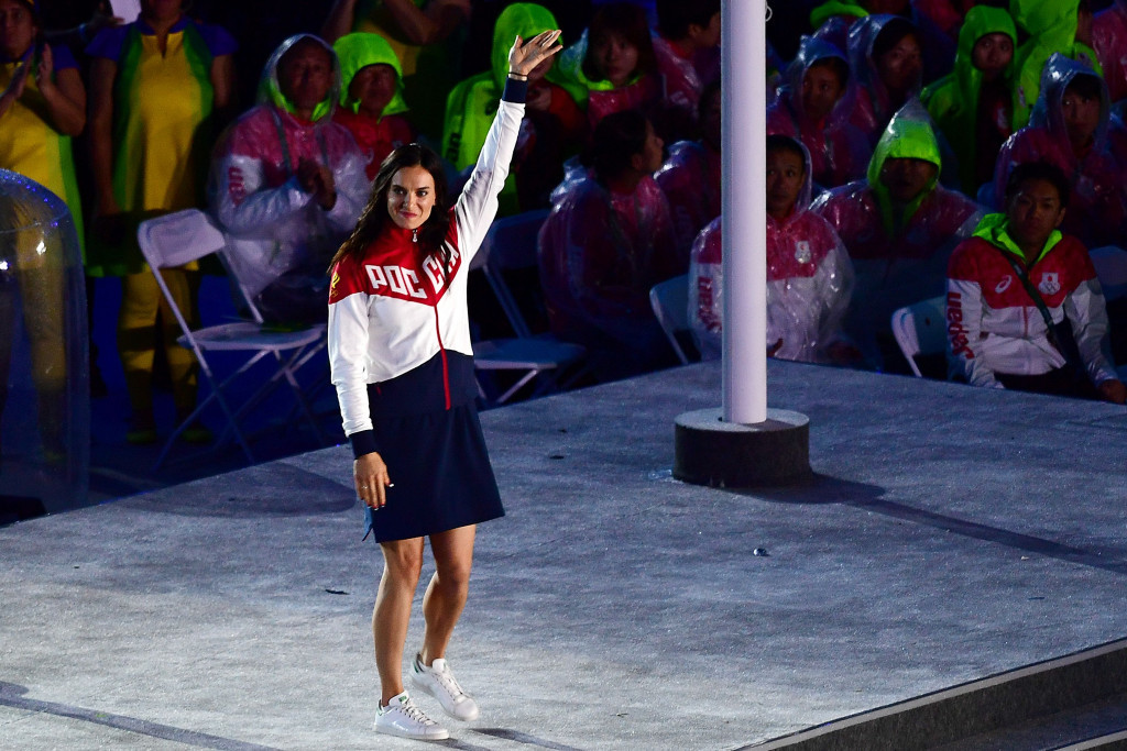 Yelena Isinbayeva's initial appointment as RUSADA chair was criticised by WADA ©Getty Images