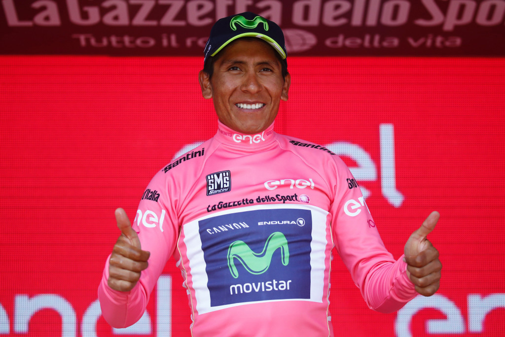 Quintana takes overall lead from Dumoulin at Giro d'Italia