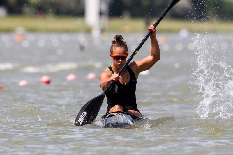 Carrington stars as Olympic medallists endure mixed day at ICF Canoe Sprint World Cup