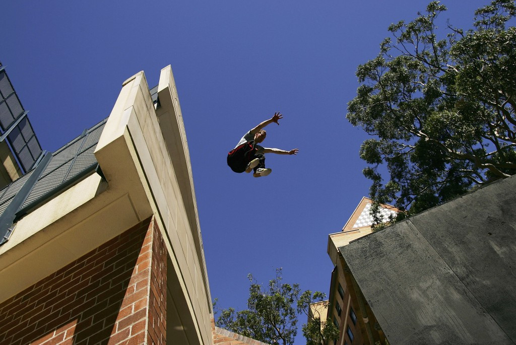 A parkour event is due to be held by the FIG tomorrow ©Getty Images