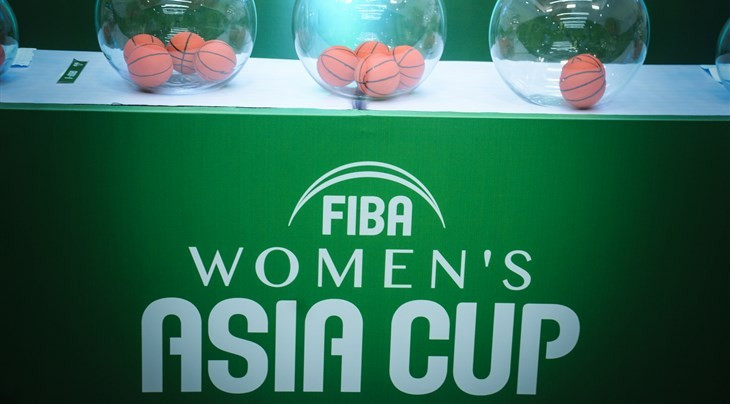 The draw for the FIBA Women's Asia Cup has been made ©FIBA