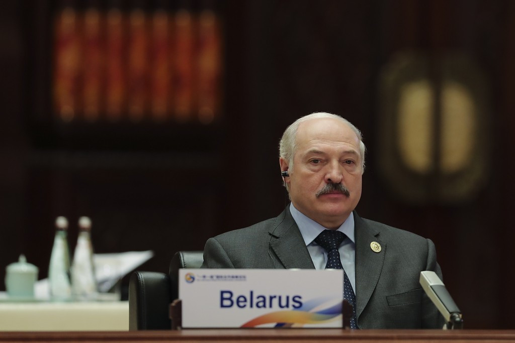 Alexander Lukashenko has slammed his country's ice hockey team ©Getty Images