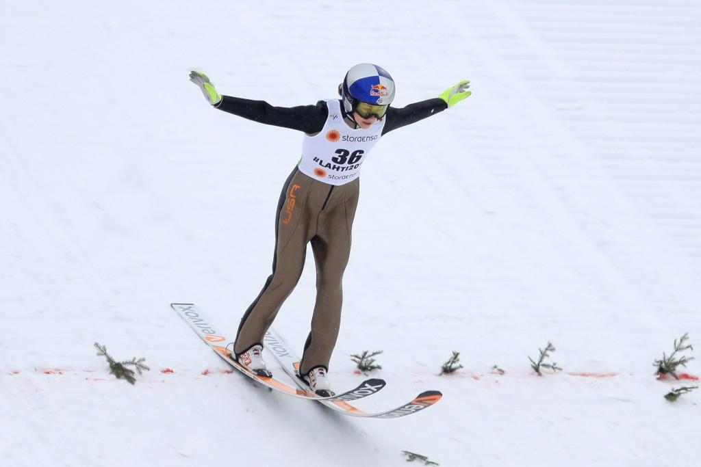 Sarah Hendrickson won the 2011-2012 FIS Ski Jumping World Cup title ©Getty Images