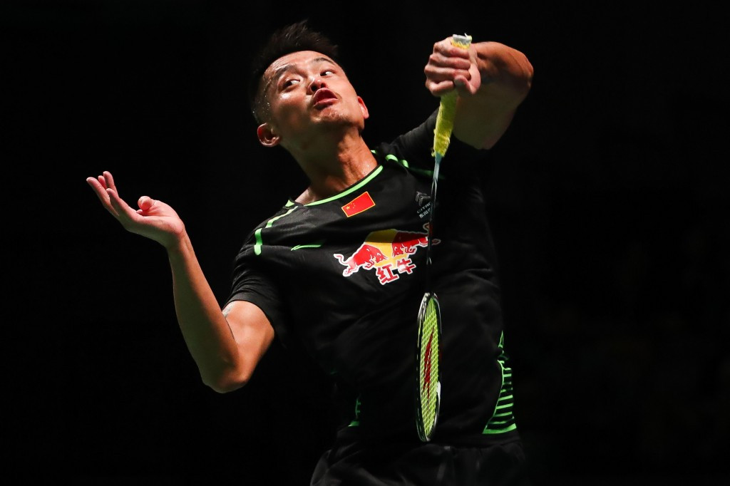 Lin Dan helped China to a narrow victory over Japan ©Getty Images