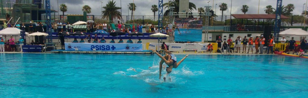 Carbonell claims gold in front of home crowd at FINA Synchronised Swimming World Series
