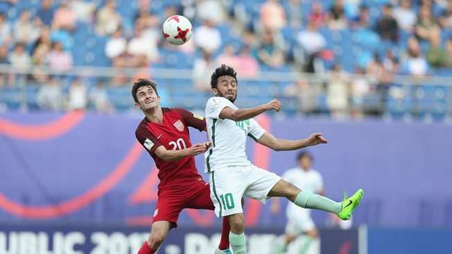 United States finished top of Group F after a draw with Saudi Arabia ©Getty Images