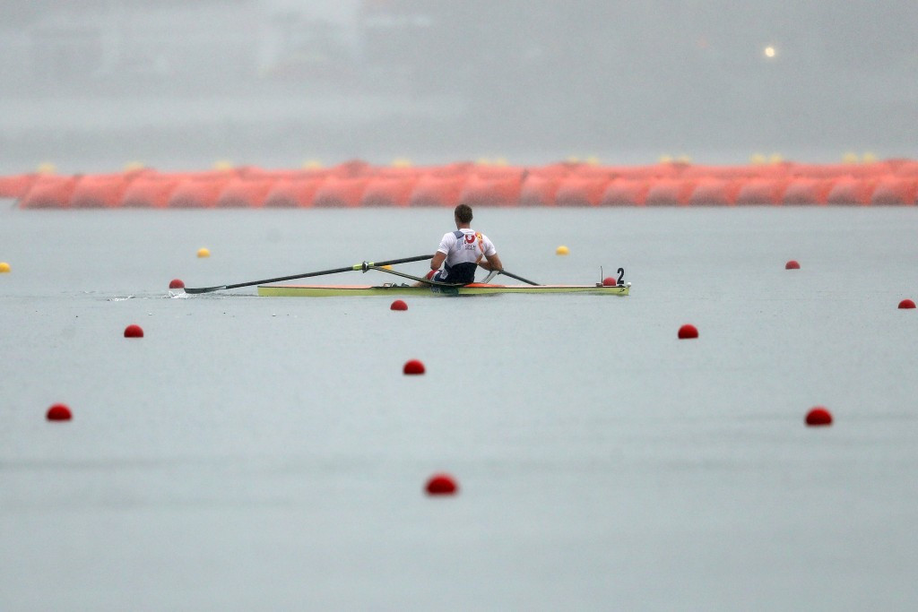Synek delivers gold for hosts at European Rowing Championships