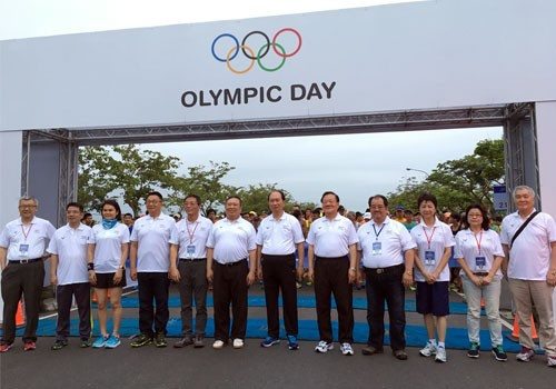 Chinese Taipei Olympic Committee host 30th edition of Olympic Day Run
