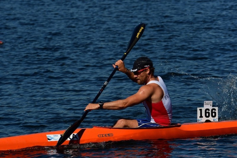 France's Quentin Urban secured his second gold medal of the weekend ©ICF