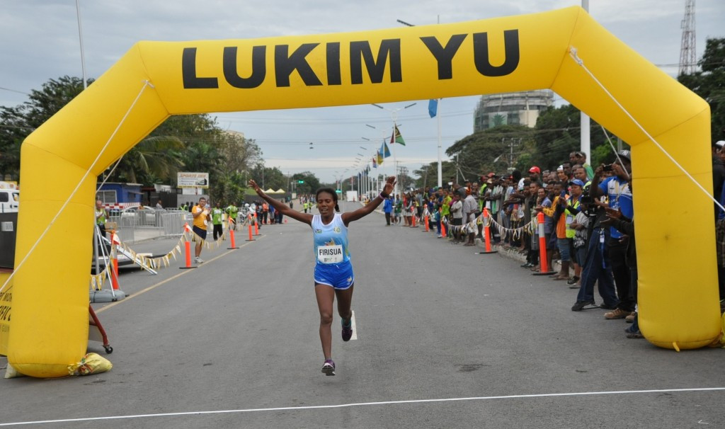 In pictures: Port Moresby 2015 day 14