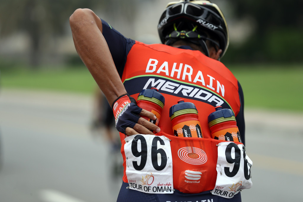 Sheikh Nasser founded the Bahrain-Merida cycling team last year ©Getty Images