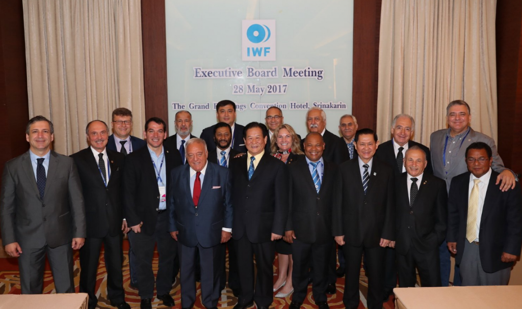 Aján re-elected as IWF President