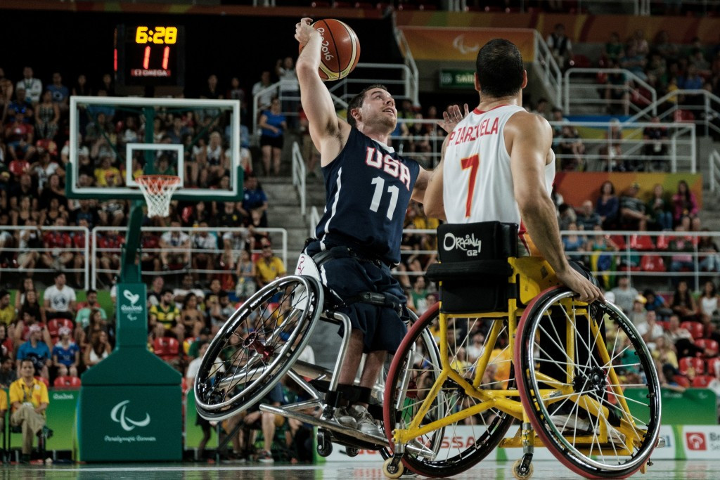 Eight Paralympic champions named in US men's wheelchair basketball squad