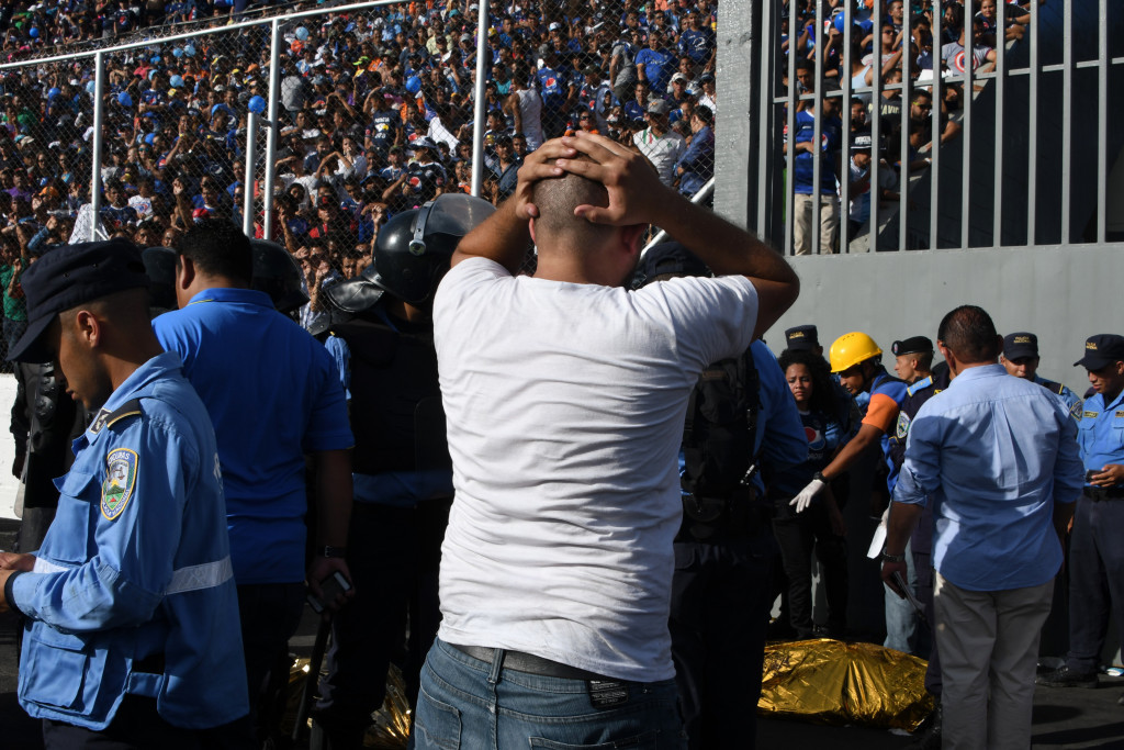 At least four die in stampede prior to Honduran football match