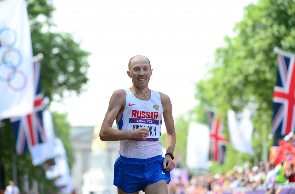 Numerous Russian race walkers have been sanctioned in recent years, including Sergey Kirdyapkin ©Getty Images