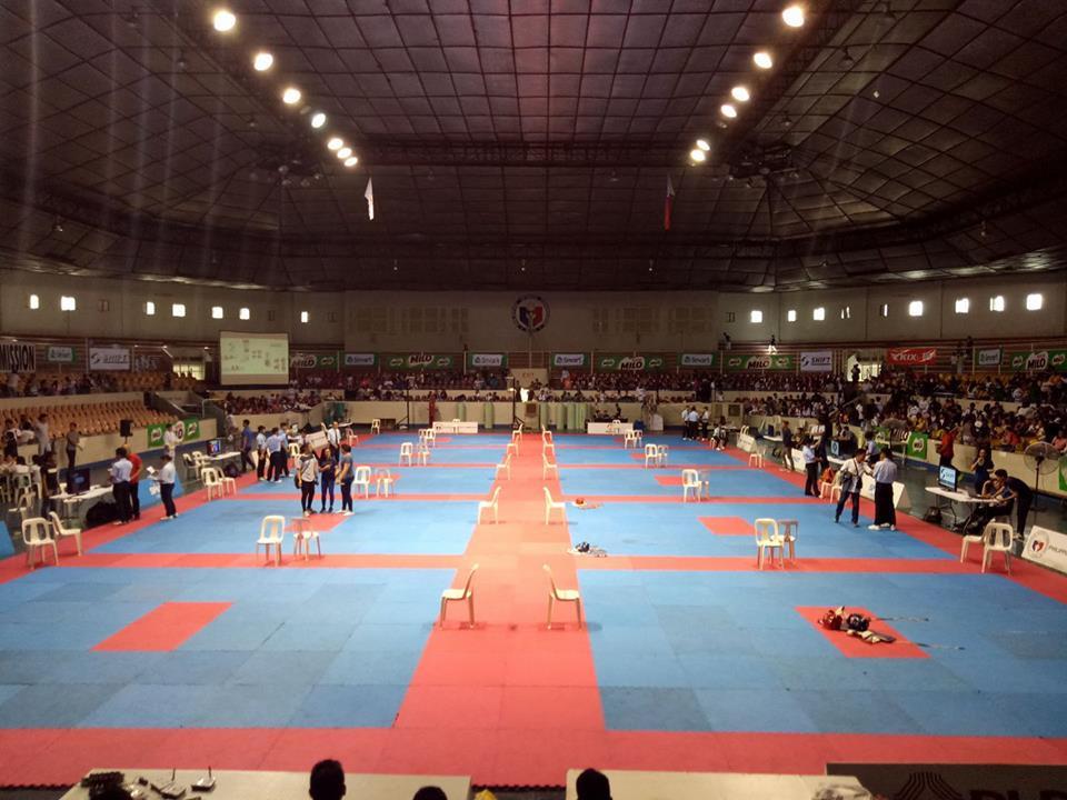 Around 1,500 athletes participated at the event in Manila ©PTA
