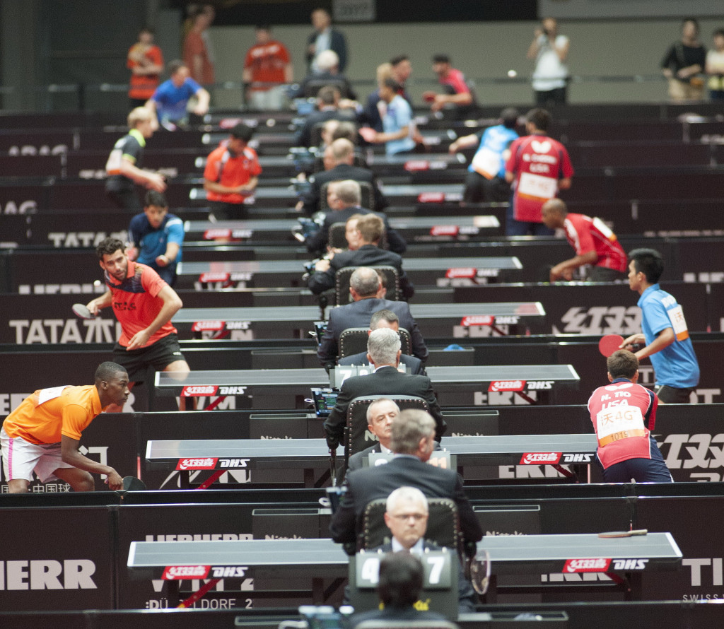 The World Table Tennis Championships also began today two days before the AGM ©ITTF