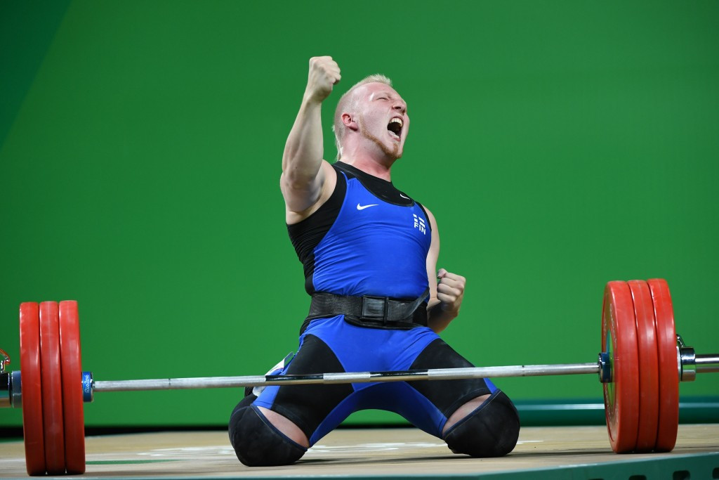 Weightlifting has a big following in Finland ©Getty Images